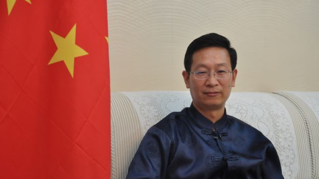 Duta Besar Zhang Lizhong berkata