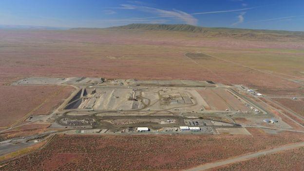 Vista aérea de Hanford Site (Foto: cortesía Hanford Site)