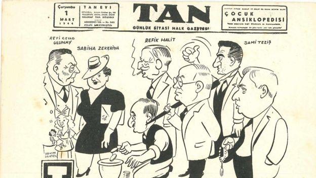 Tan Gazetesi'nin 1 Mart 1944 tarihli sayısı