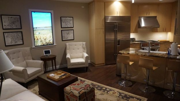 The nuclear bunkers designed for luxury living - BBC News