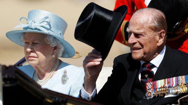 Королева и принц Филип