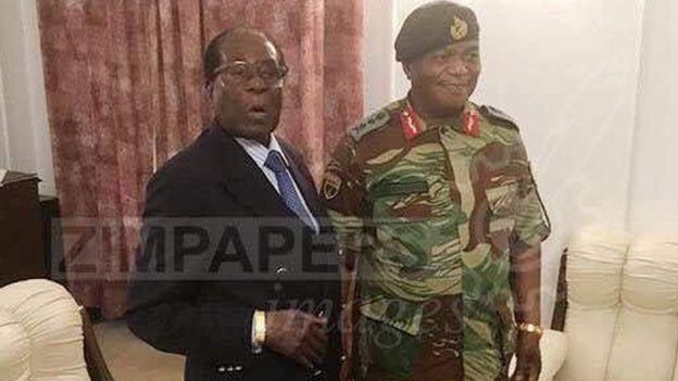 Robert Mugabe alikutana na mkuu wa majeshi aliyeongoza hatua dhidi yake