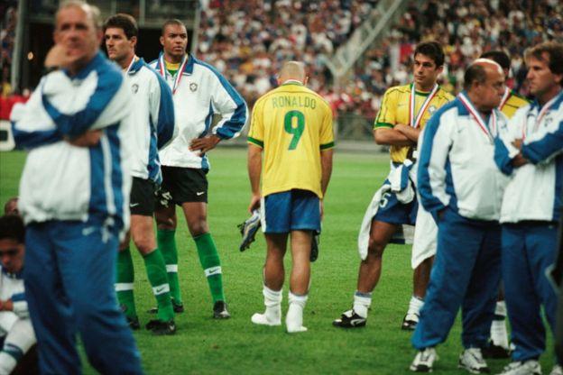 Ronaldo tras perder la final contra Francia.