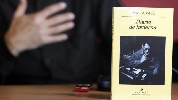 Libro de Paul Auster.