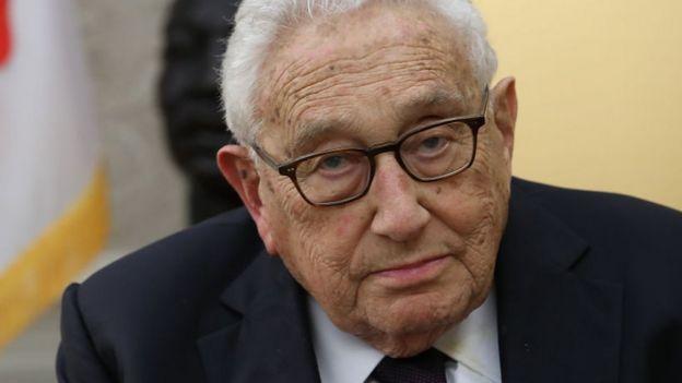 Henry Kissinger.