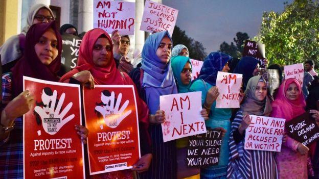 Hindistan kadın protestoları
