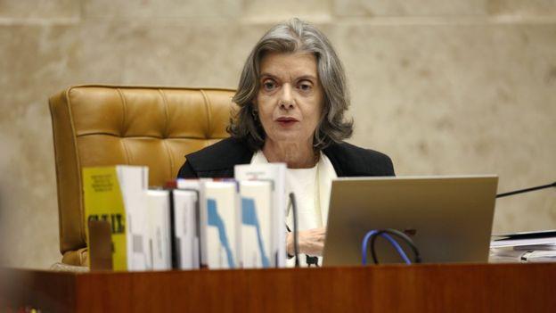 A presidente do Supremo Tribunal Federal, Carmén Lúcia