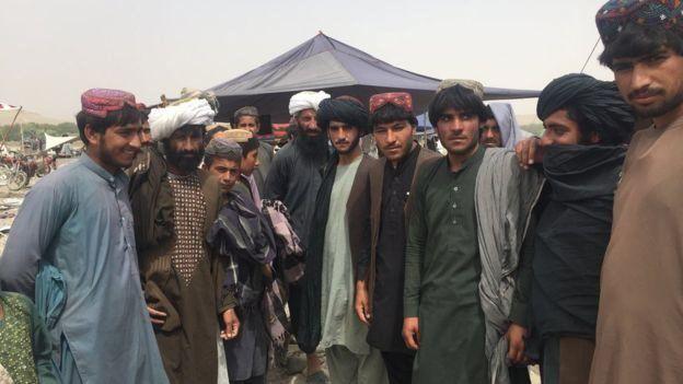 Comerciantes en Musa Qala