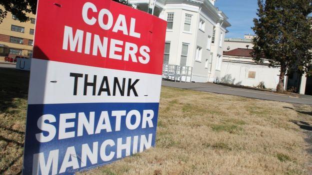 Propaganda de los mineros del carbón.