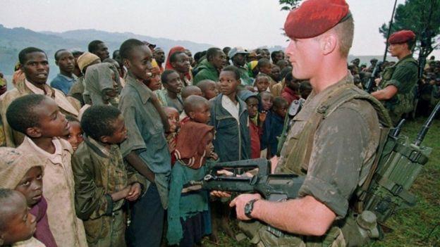 Ingabo z'Ubufaransa muri Opération Turquoise mu Rwanda mu 1994