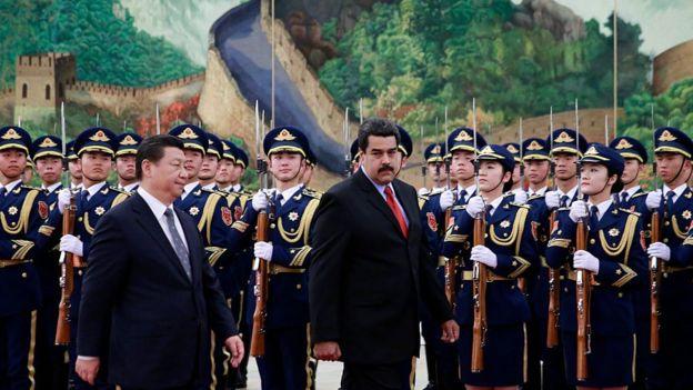Maduro y Xi Jinping