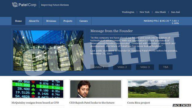 Patel website