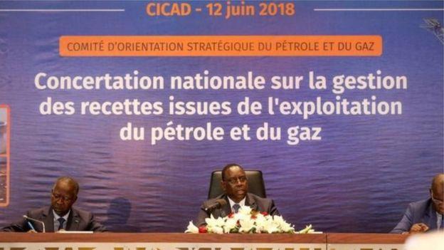 Le président Macky Sall et le Premier ministre Mahammed Dionne ont dirigé, en juin 2018, une concertation nationale sur la gestion des ressources de pétrole et de gaz.