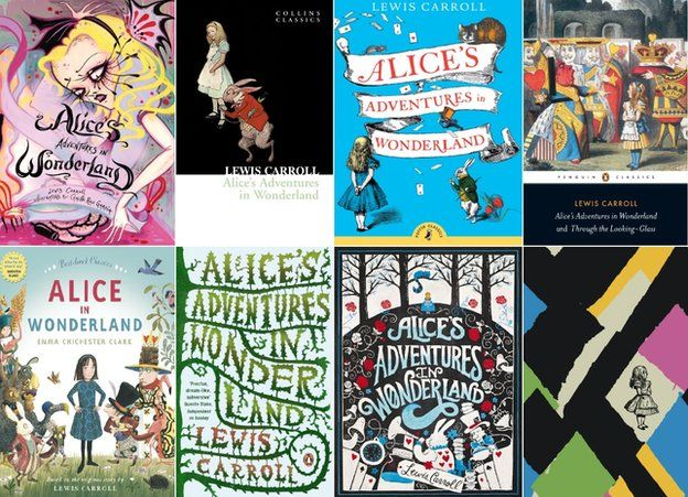 Alice book covers