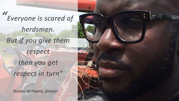 Quote box: Rice farmer, Rotimi Williams: