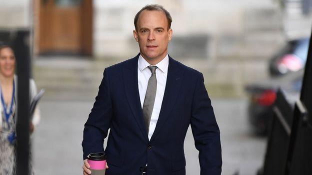 Dışişleri Bakanı Dominic Raab