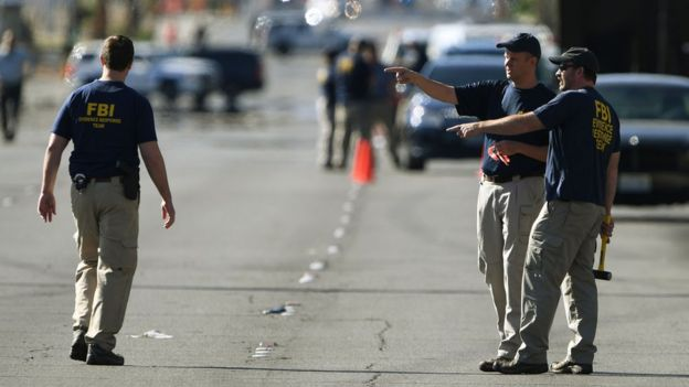 Agentes del FBI en Las Vegas