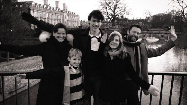 Rikke Schmidt Kjaergaard y familia
