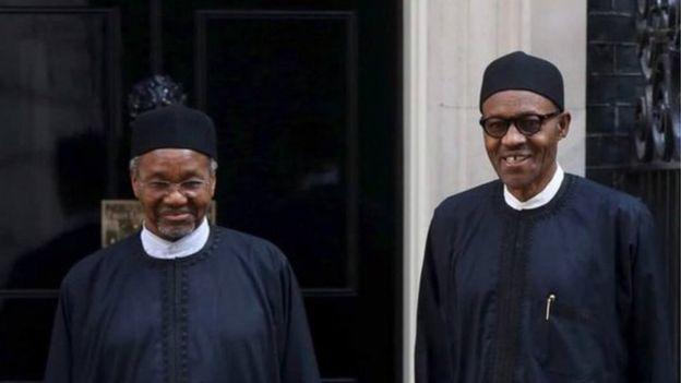 Mamman Daura and Buhari