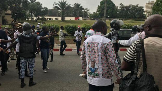 Des policiers ont investi le siège de Guillaume Soro à Abidjan