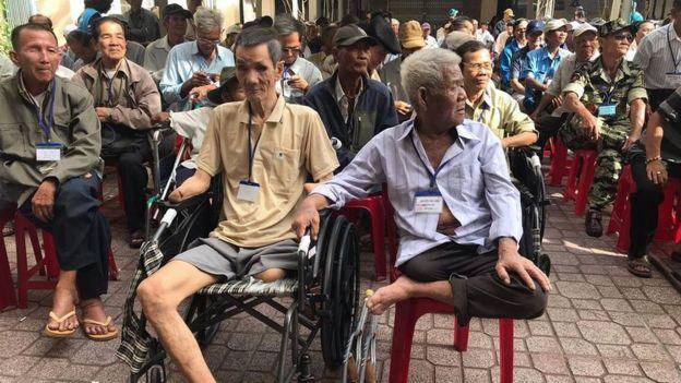 """Vườn rau Lộc Hưng là nhà của 18 thương phế binh VNCH """"mồ côi"""", hầu hết đều không còn khả năng lao động"""