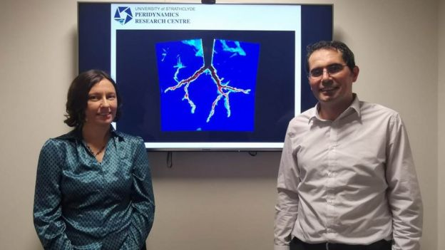 Dr Selda Oterkus and Dr Erkan Oterkus - the co-director and director of the Peridynamics Research Centre at Strathclyde University