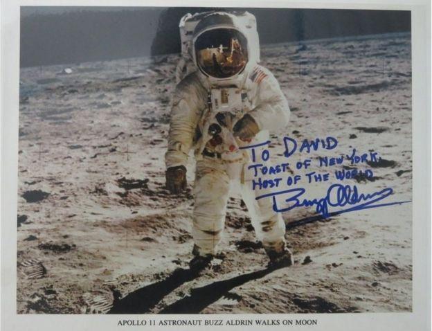 Buzz Aldrin photo