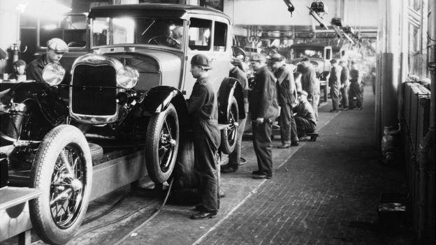 Fábrica de vehículos de la Ford