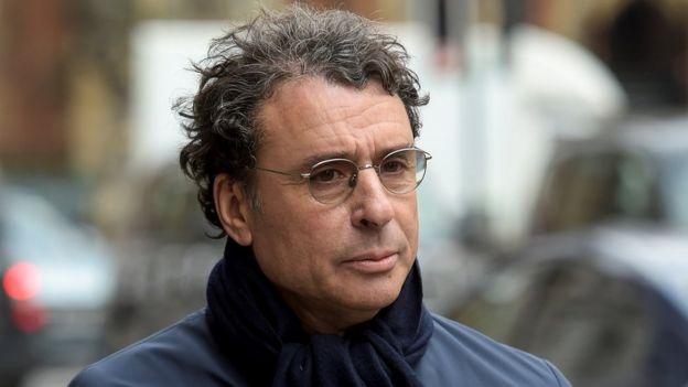 Alexandre Djouhri in London, 22 Feb 18