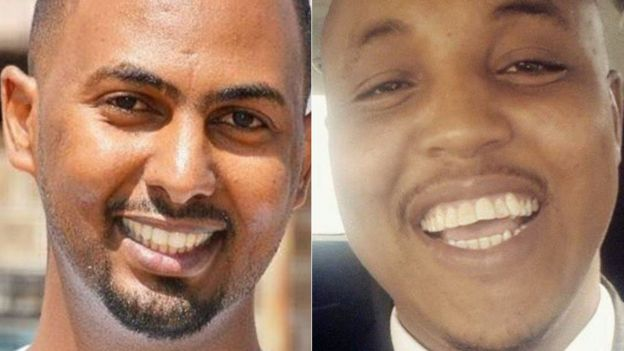 L-R: Feisal Ahmed and Abdalla Dahir