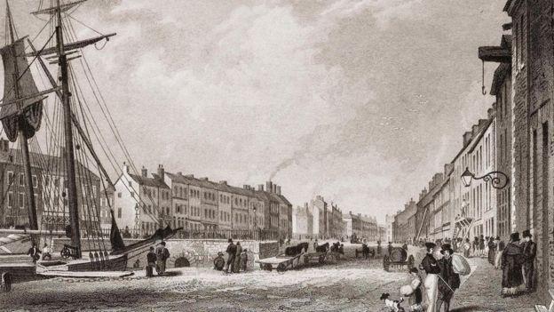 في القرن التاسع عشر، ساعد نهر فارسيت بمد معامل التقطير ومصانع الغزل والنسيج في بلفاست بالطاقة