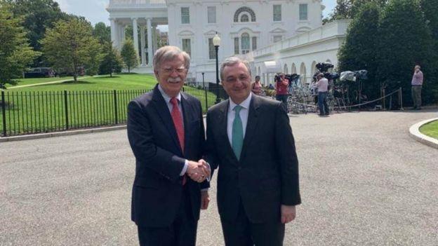 Zohrab Mnatsakanyan və John Bolton