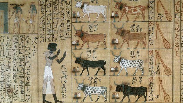 Древнегипетская фреска