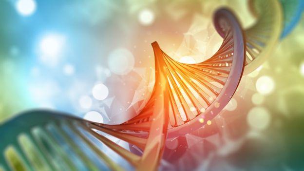 Ilustração do código genético