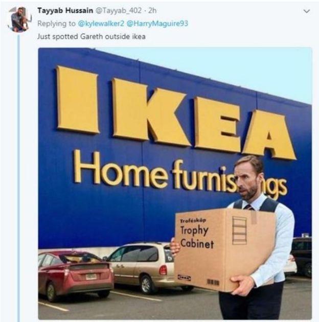 Gareth IKEA meme