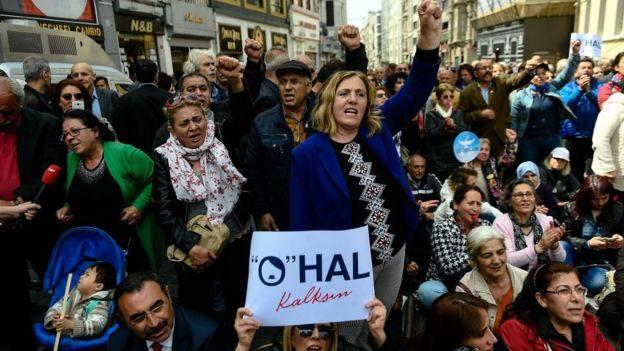 OHAL protestoları
