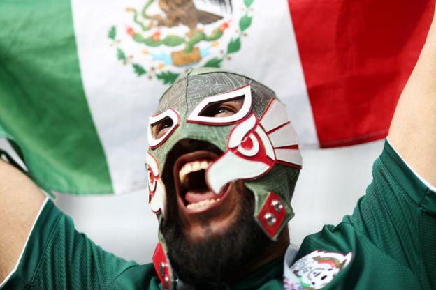 Los aficionados mexicanos creen que pueden dar la sorpresa ante Alemania.