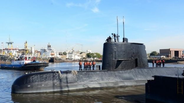 Stepped-Up Search for Missing Argentine Submarine (bbc.com)