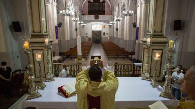 Iglesia en Venezuela.