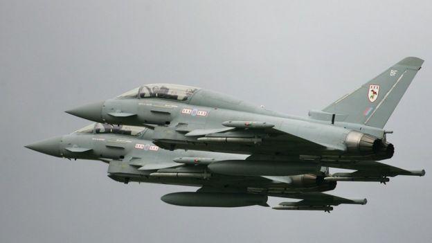 منع فروش تسلیحاتی آلمان، قرارداد فروش جنگندههای یوروفایتر تایفون را با پرسش روبهرو کرده است