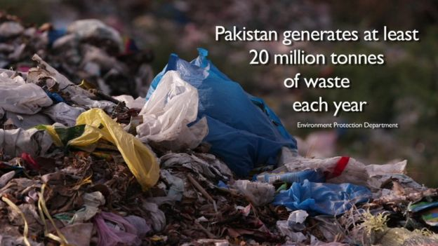 Could this 10-year-old fix Pakistan's waste problem? - BBC News