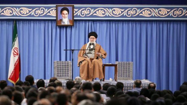 El ayatolá Jamenei