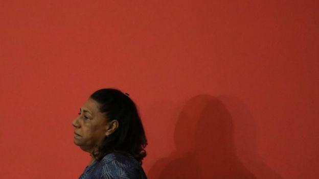 Retrato de Marinete Silva, mãe de Marielle