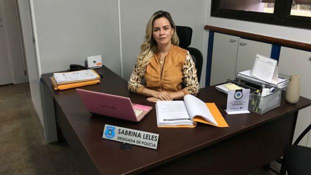 Delegada Sabrina Leles