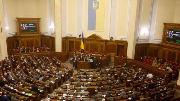 Ukrayna Parlamentosu, 28 Kasım Çarşamba gününden itibaren 30 günlük sıkıyönetime geçilmesini öngören kararı onayladı