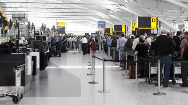 Brexit: Flights 'at risk' under no-deal, government warns