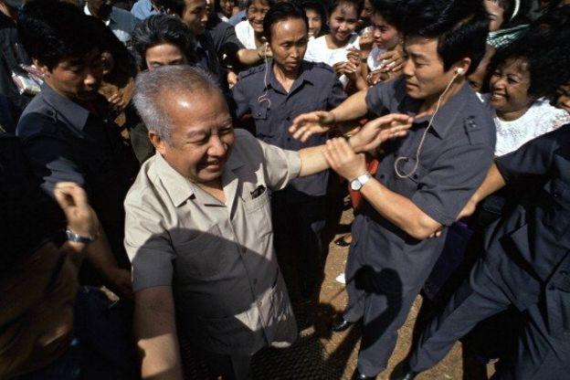 Sihanouk và vệ sỹ Bắc Hàn