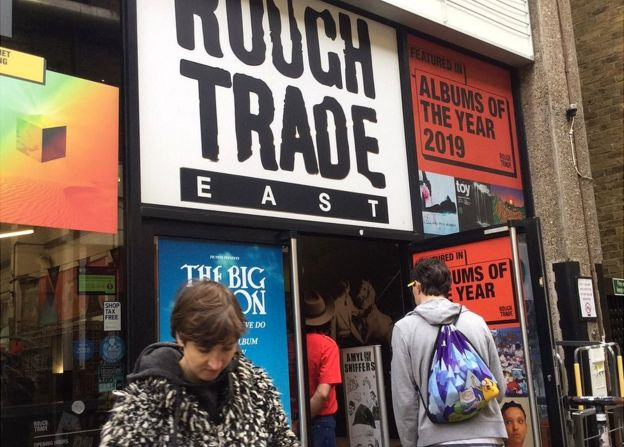 Rough Trade outside