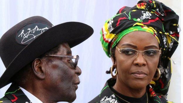 'هشدار قرمز' پلیس آفریقای جنوبی علیه همسر رهبر زیمباوه
