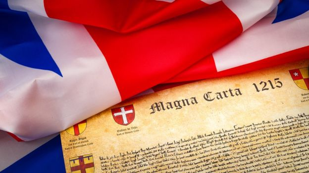 Magna Carta və Britaniya bayrağı